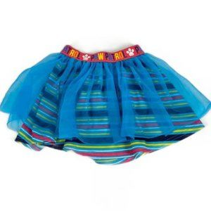 Paw Patrol Blue Tulle Skirt Size 4T